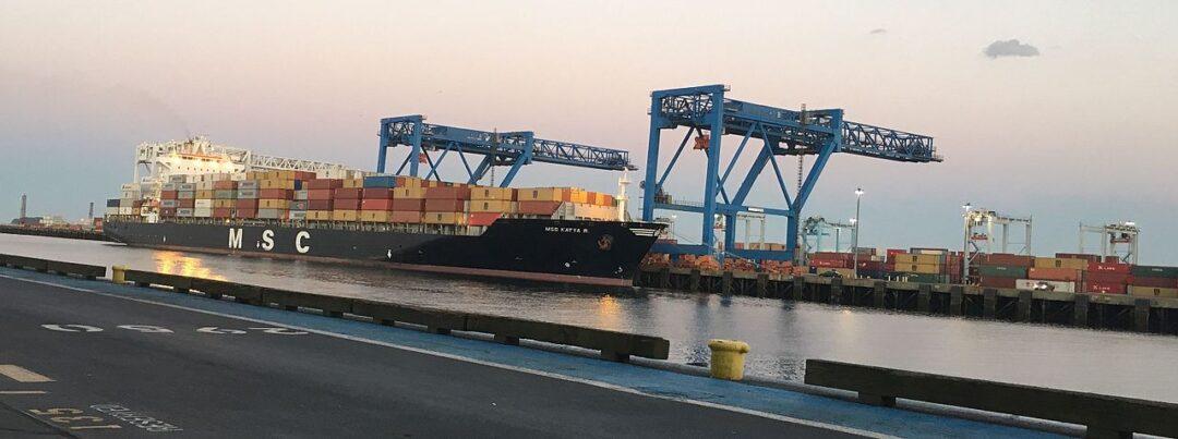 """""""MSC Katya R"""" se convierte en el buque más grande en recalar en TCM, Costa Rica"""