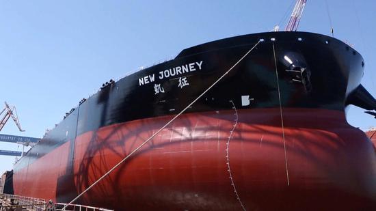 China entrega el primer VLCC inteligente