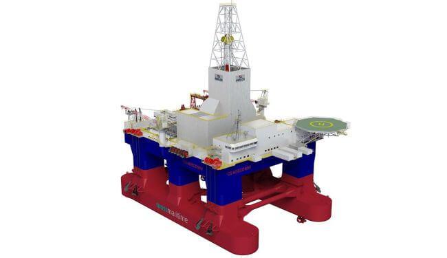 Keppel O&M selecciona los sistemas extendidos Kongsberg para la plataforma de perforación semisumergible