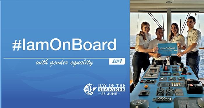 Día internacional de la gente de mar 2019: embárcate con la igualdad de género