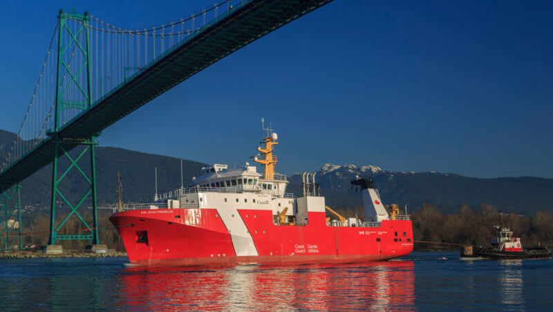 Offshore Fisheries Science Vessels, nuevo buque cientifico de Canadá