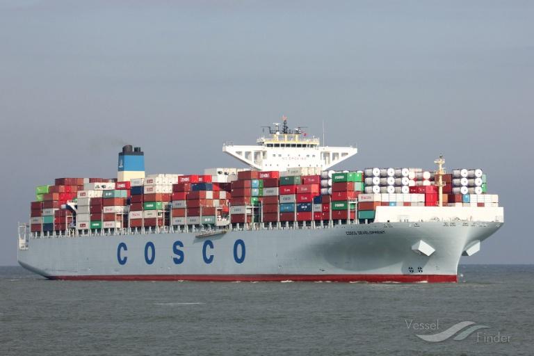 Buque portacontenedores Neopanamax colisionó con la esclusa del Canal de Panamá.