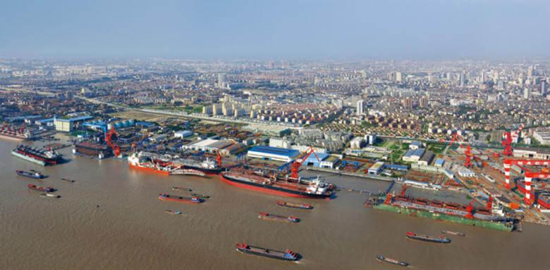 Nantong construirá una nueva zona portuaria.