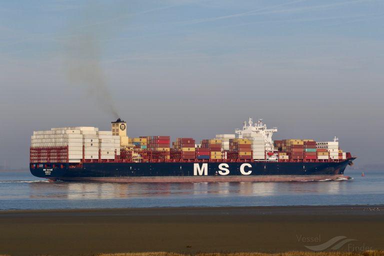 Portacontenedores MSC Gayane confiscado después incautación de cocaína