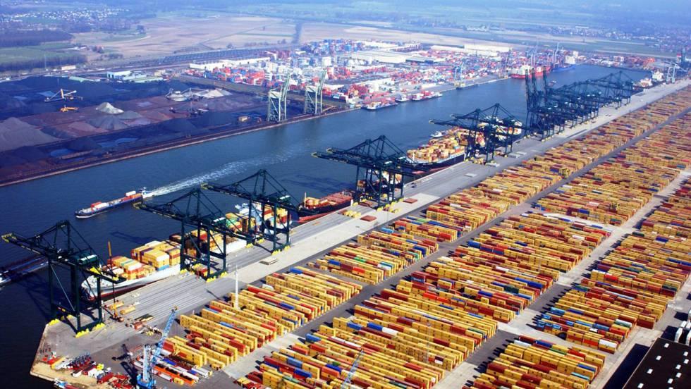 El Puerto de Rotterdam reporta números récord para el primer semestre de 2019