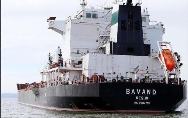 El buque iraní Bavand zarpa de Brasil