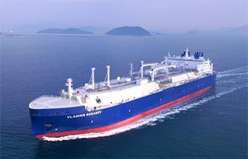 Buque GNL hace su primer viaje en verano a lo largo de la ruta del Mar del Norte