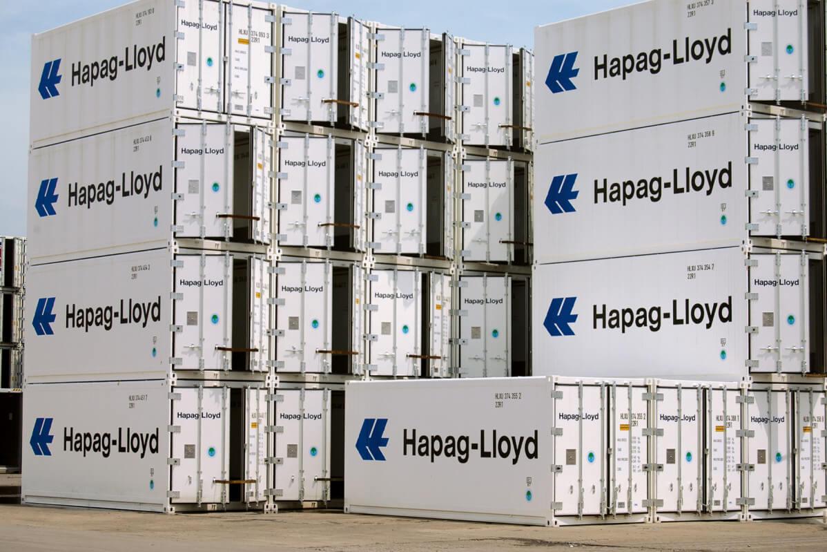 Hapag-Lloyd ordena 13,420 contenedores refrigerados para el transporte desde Perú y Chile