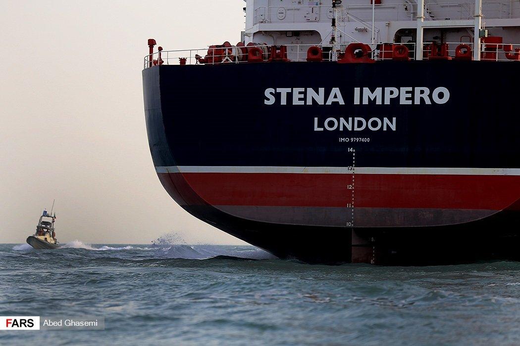 Irán publica imágenes de la tripulación de Stena Impero detenida