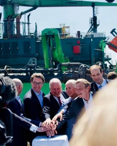 Hapag-Lloyd ve grandes oportunidades en el ajuste de canales navegables de Hamburgo