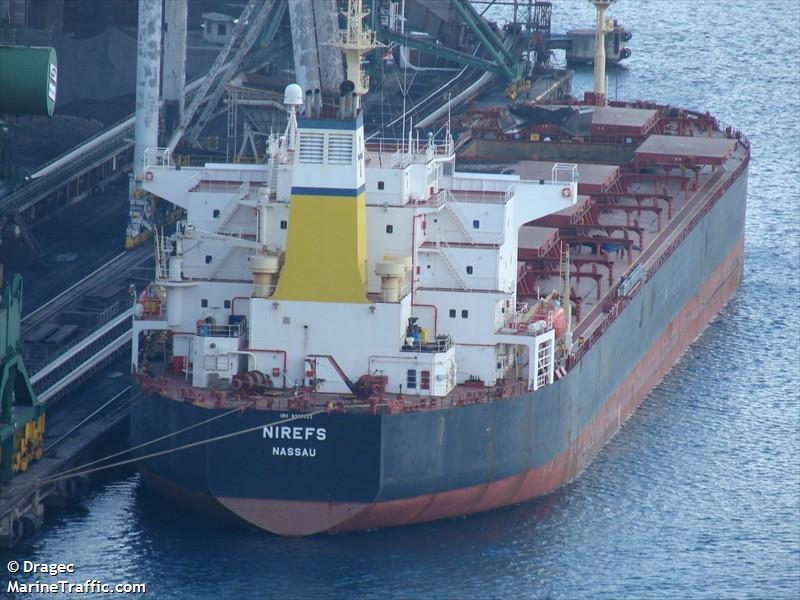 Diana Shipping vende buque de carga seca a granel Panamax 'M/V Nirefs' por US$ 6,71 millones