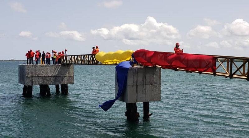 Autoridades De Bolipuertos Supervisaron Construcción De Muelle En Puerto El Guamache en Venezuela