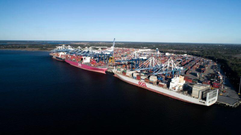 Año récord para los puertos de Carolina del Sur