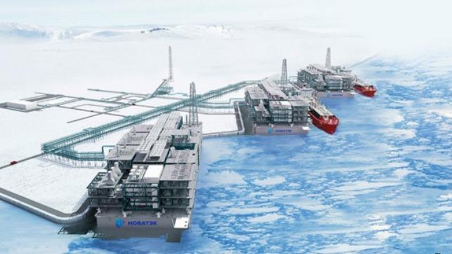 Novatek asegura la financiación de la terminal Arctic LNG 2