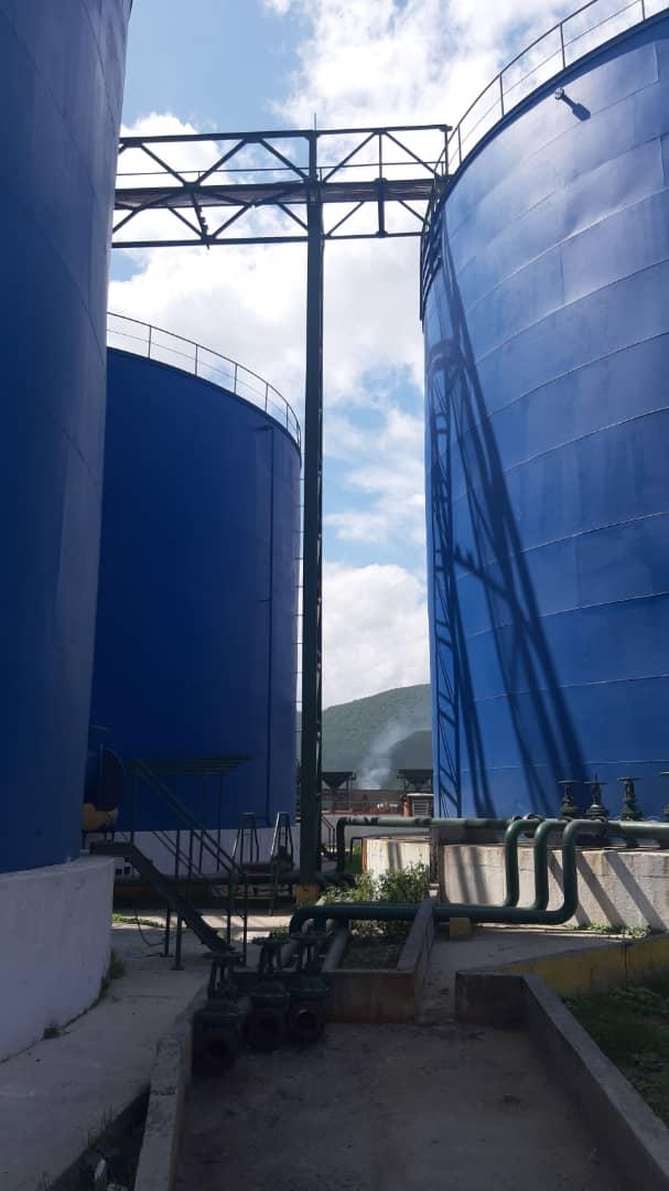 Avanza rehabilitación de los Silos Líquidos del puerto de Puerto Cabello, Venezuela.