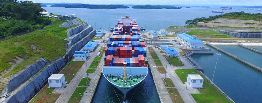 Canal de Panamá se recupera ante escasez de agua