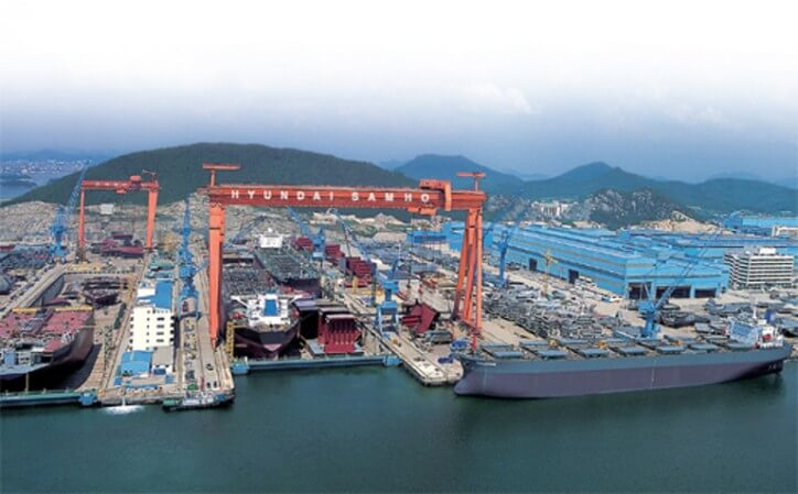 Hyundai Samho construirá un par de graneleros alimentados por LNG.