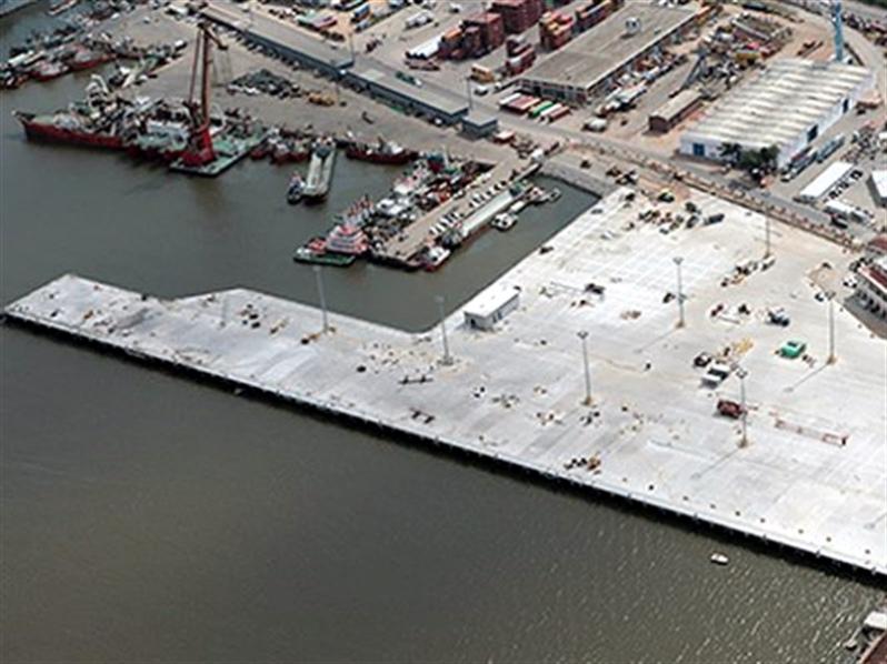 Inician obras de ampliación del 'Muelle D' en Montevideo