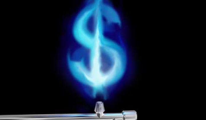 Los precios del gas natural en camino de ser los más bajos desde 1998