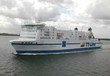 El  TT Line ferry PETER PAN interrumpió el viaje tras un incendio en  sala de máquinas.