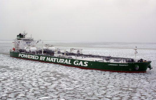 Aframax será el primer petrolero de gran capacidad en cruzar NSR