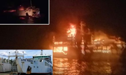 Filipinas: 24 pasajeros continúan desaparecidos tras incendio de ferry