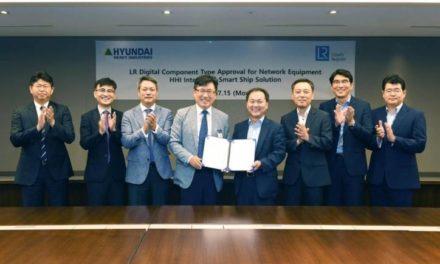 Hyundai Heavy obtiene la primera aprobación digital de componentes de LR