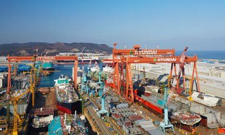 Hyundai Samho aumenta su cartera de pedidos con 5 nuevos barcos