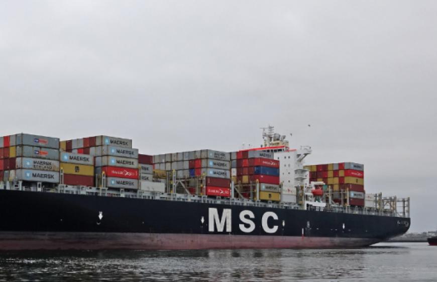 Multan a buque de MSC por violar el límite de velocidad en Canadá