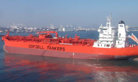 Odfjell recibe el buque químico de acero inoxidable más grande del mundo
