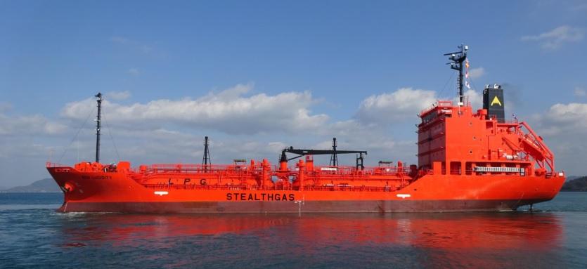 StealthGas añadirá dos unidades de GLP a su flota