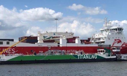 Titan LNG conduce la mayor carga de GNL del mundo hasta la fecha