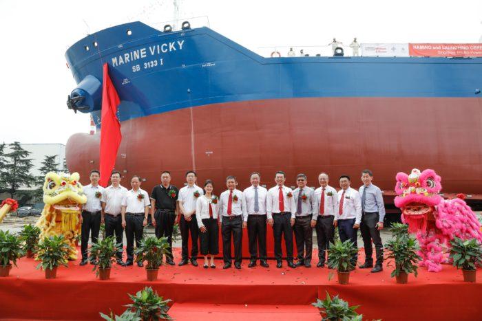 Ceremonia de nombramiento del primer búnker de combustible dual de Singapur