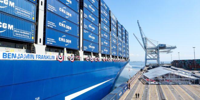 Comerciantes chinos en conversaciones para invertir en activos portuarios de la CMA CGM