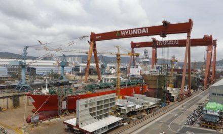Constructores navales surcoreanos a la cabeza de la lista mundial de pedidos