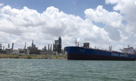 Corpus Christi: Eagle Ford Terminals recibe el primer buque en el nuevo muelle