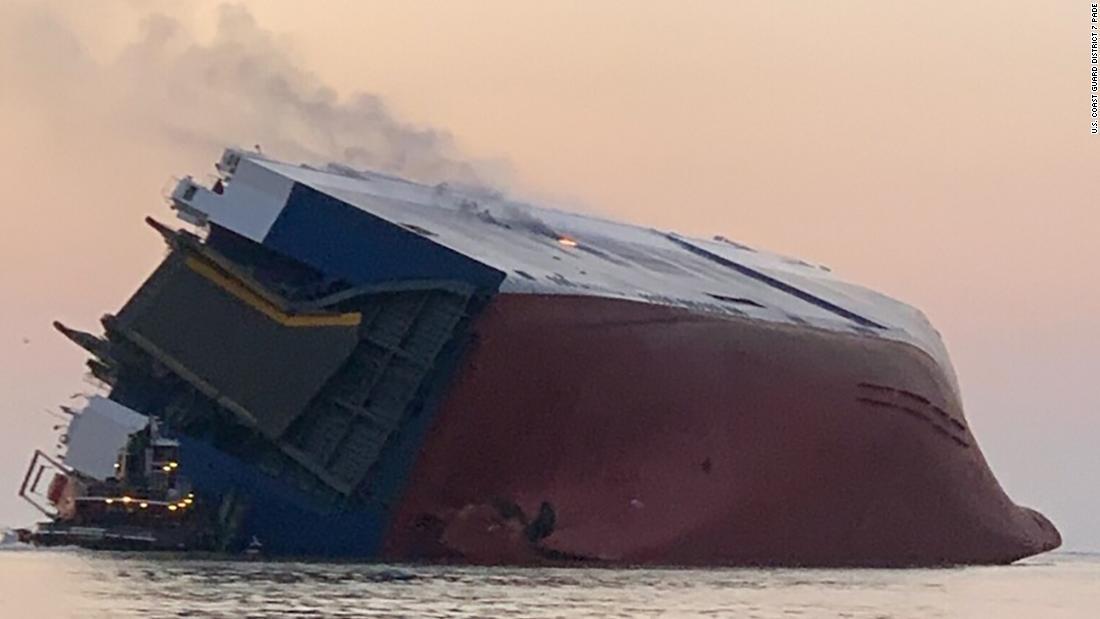 Cuatro miembros de la tripulación del MV Ocean Ray encontrados con vida