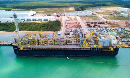 El Astillero Brasileño de Sembcorp Marine completa su 1er FPSO