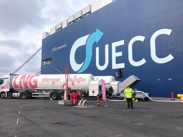 Elenger lanza servicios de abastecimiento de combustible LNG en puerto de Finlandia