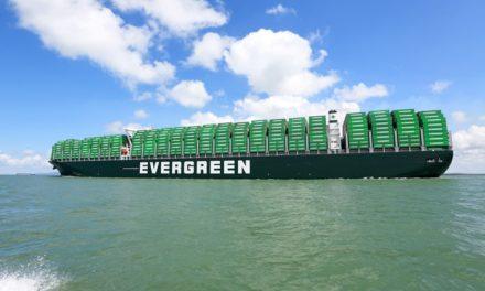 Evergreen pedirá diez contenedores de 23.000 TEU