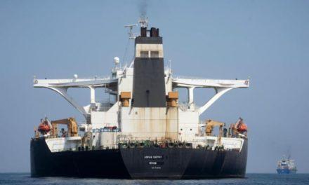 Irán: Adrian Darya 1 descargó crudo en la costa mediterránea