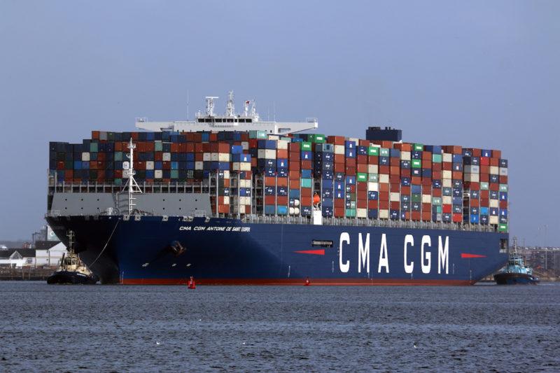 La Armada Mexicana Intercepta Cocaína en Buque CMA CGM