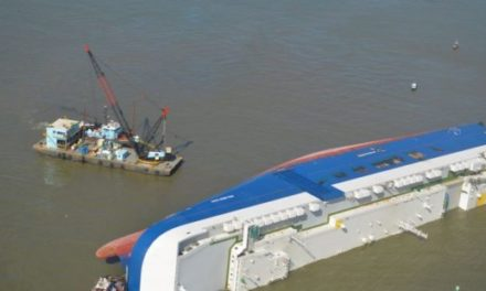 Operación de Salvamento Golden Ray se reanuda después de la tormenta