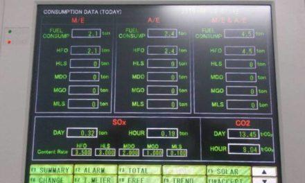 Primer MAS del mundo integrado con sistema de monitoreo de combustible a bordo del MV Panamana