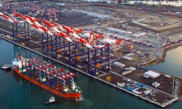 Puerto de Long Beach mantiene la reducción de la contaminación del aire