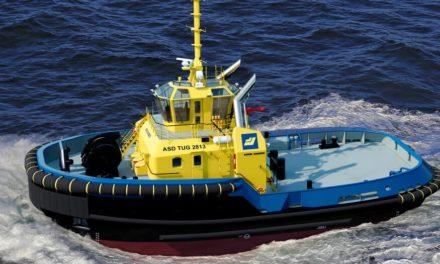 SAAM Towage firma contrato para la entrega de remolcador en México