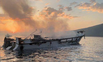 Se abre investigación sobre incendio a bordo de barco de buceo en California