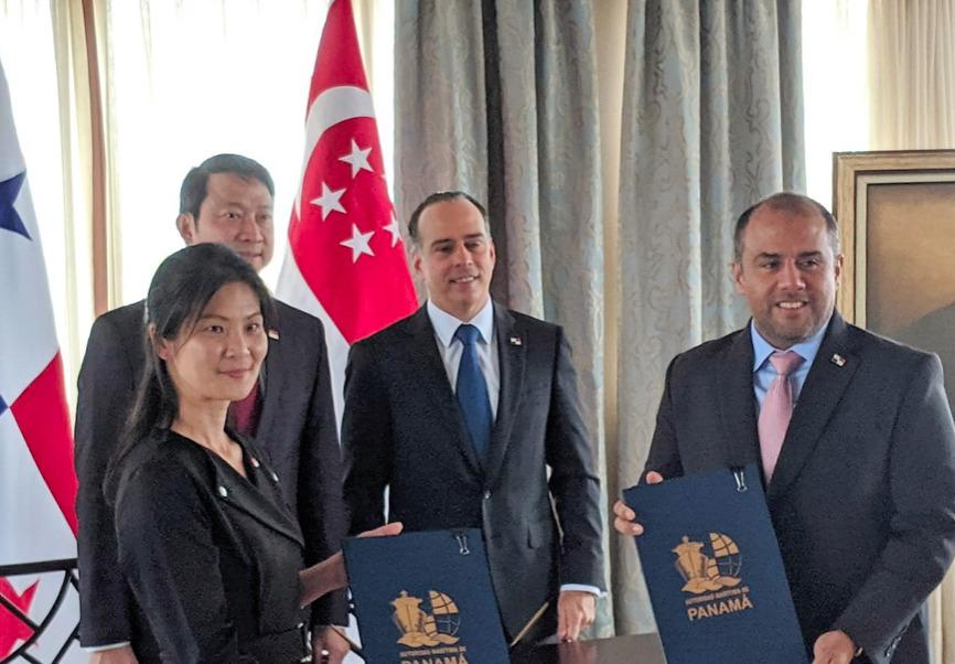 Singapur y Panamá fortalecerán relaciones marítimas