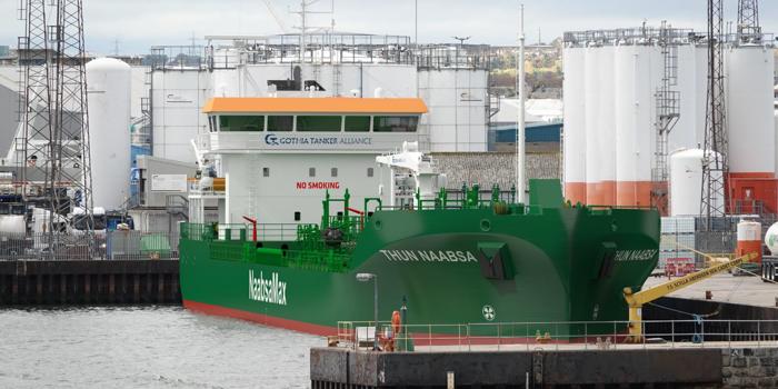 Thun Tankers celebra en Estocolmo nombramiento de uno de sus buques alimentado con GNL
