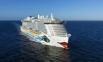 AIDAcosma será el segundo barco impulsado por GNL de AIDA Cruises